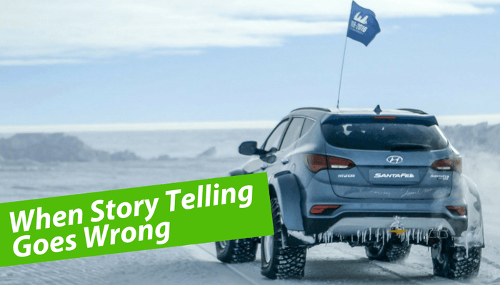When Story Telling Goes Wrong – Hyundai v Jaguar